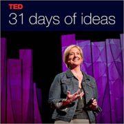 تصویری ورودی تد کلاکت Brené Brown