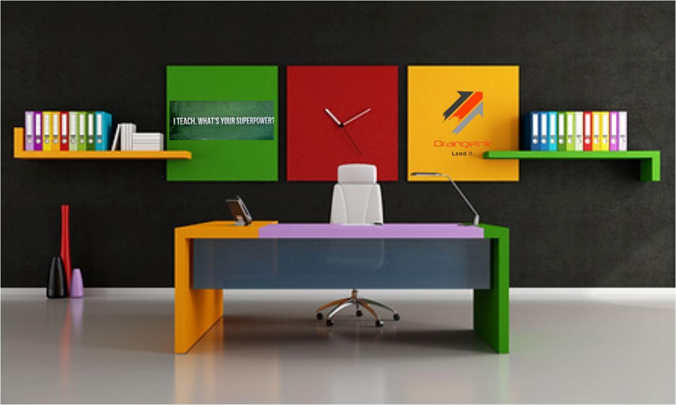 تصویر مفهومی اتاق کار آرنجینک