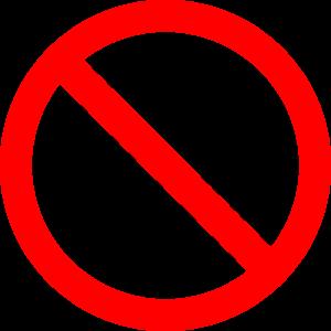 تصویر گجت های الکترونیکی ممنوع که کنایه ای است از مفهوم ZDT