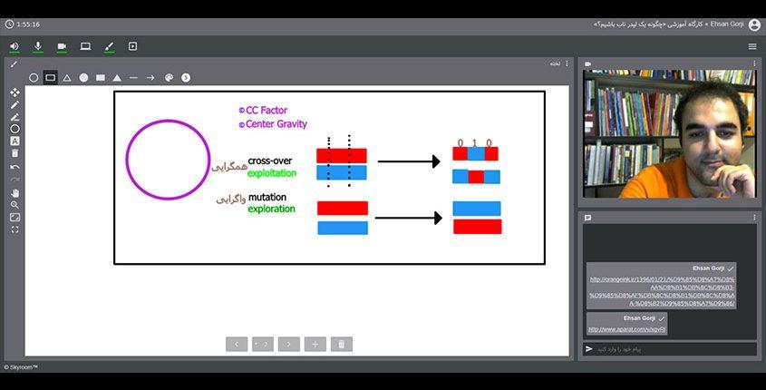 تصویری از تدریس CC Factor و Center Gravity در راستای توسعه فردی در رویداد پانزدهم است.
